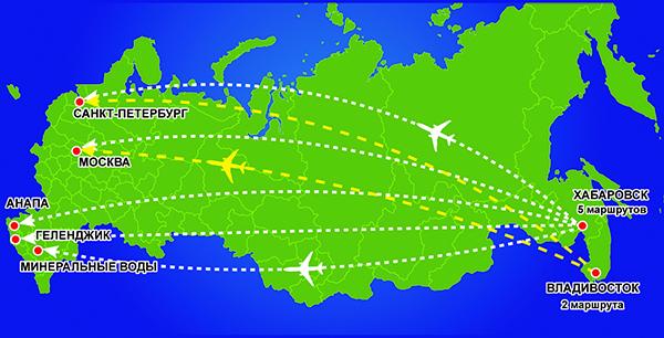 Субсидия на авиабилеты 2019 дальний восток